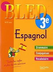 Bled Espagnol 3e : 14/15 ans