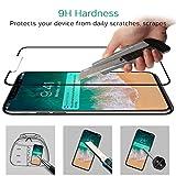 Bovon iPhone X Panzerglas, Schutzfolie [3D Vollständige Abdeckung] [9H Härte] [Ultra Clear],...