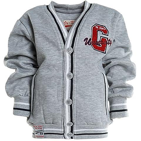 Jungen Kinder College Pullover Hoodie Sweat Shirt Jacke Langarm Winter 20790,