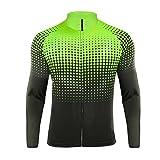 Uglyfrog Maglia da Ciclismo Uomo Traspirante Bicicletta Magliette Manica Corsa a Maniche Lunghe Abbigliamento QDP01