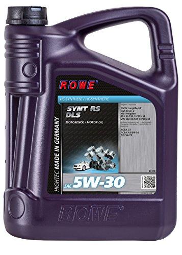 Preisvergleich Produktbild ROWE HIGHTEC SYNT RS DLS SAE 5W-30, 5 Liter