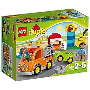 lego 10814 duplo jeu de construction la d panneuse jeux et jouets. Black Bedroom Furniture Sets. Home Design Ideas