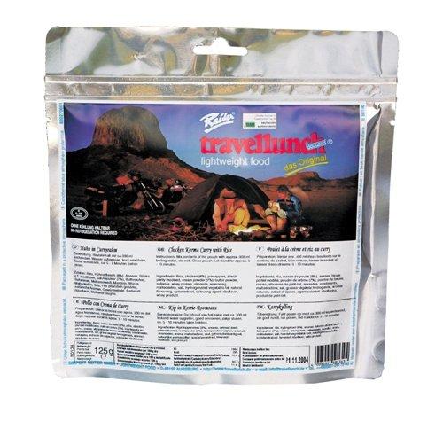Preisvergleich Produktbild Trockennahrung Expedition Notreserve Camping Nahrung Huhn in Curryrahm 10 Tüten x 125 g GP 100g 4,32 €