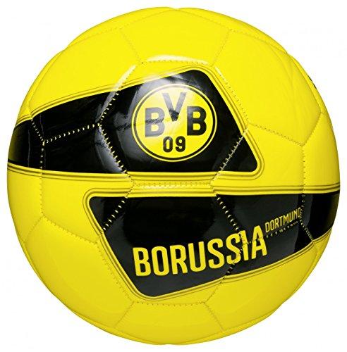 PUMA Fußball BVB Evospeed 5.4 Graphic Ball, Cyber Yellow/Black, 5