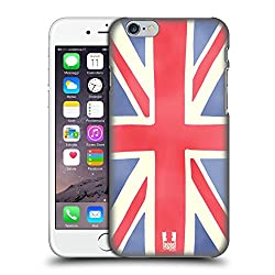 Head Case Designs Union Jack Ich Träume Von London Harte Rueckseiten Huelle kompatibel mit iPhone 6 / iPhone 6s