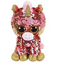 Ty Flippables TY36670 Sequins Sunset the Unicorn Soft Toy, 15 cm, Multi-Coloured