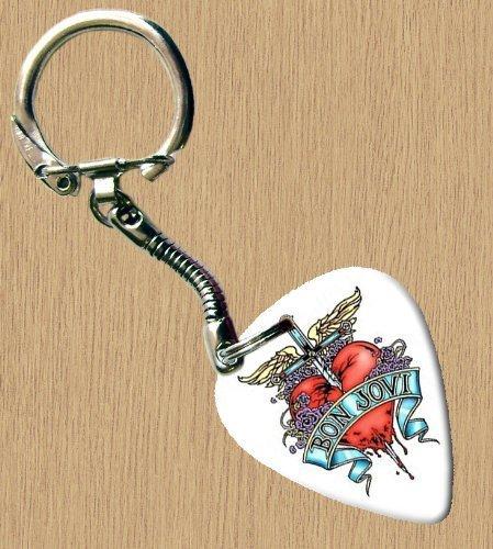 Bon Jovi Premium de Guitare Porte-clés