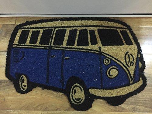 VW furgoneta Felpudo azul