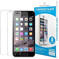 Power Theory iPhone 7/8 Schutzfolie (2 Stück) - Japanisches 9H Panzerglas/Panzerglasfolie, HD Displayschutzfolie/Panzerfolie, Tempered Glas Schutzglas, Handy Folie 3D Hartglas, Screen Protector Glass