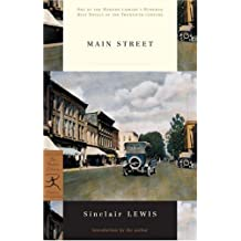 Main Street (Modern Library) by Sinclair Lewis (1999-04-01)
