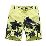 POIUDE GarçOns Short de Bain Impression Maillot de Bain SéChage Rapide Beachwear...
