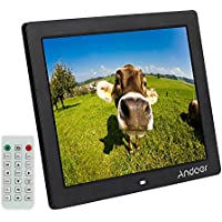 'Andoer 12 HD LED Cornice Digitale 800 * 600 MP4 MP3 Movie Player per e-book-Orologio