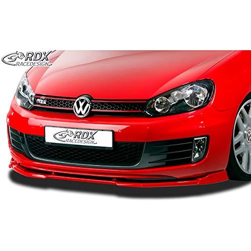 RDX Frontspoiler VARIO-X Golf 6 GTD, GTI Frontlippe Front Ansatz Vorne Spoilerlippe