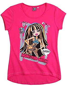Monster High Kurzarmshirt pink
