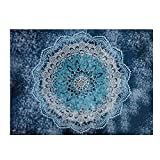 Unimall Mandala de Bohemia Tapices India Decoración del Tapiz de Pared Decorativo, ideal para usar...