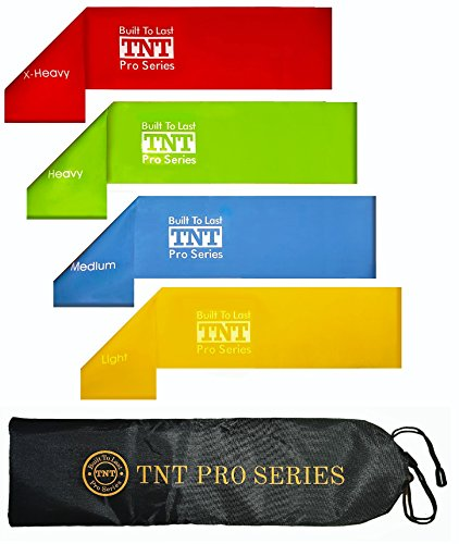 1-rated-exercise-loop-bands-extra-wide-extra-long-resistance-loop-bands-for-exercise-set-of-4-by-tnt