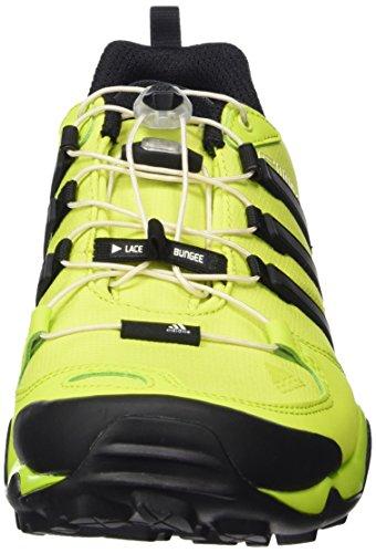 adidas Herren Terrex Swift R Outdoor Fitnessschuhe Gelb (Semi Solar Yellow/Core Black/Chalk White)