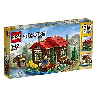 LEGO 31048 Creator – Set Cabaña Junto al Lago, Multicolor (31048)