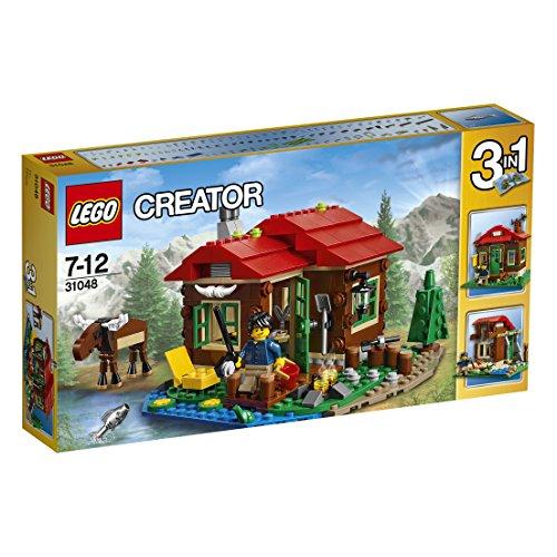 lego-cabana-junto-al-lago-multicolor-31048