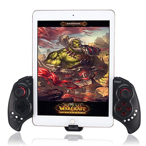 """9023 Wireless Bluetooth Game Controller Wiederaufladbare Wireless Gamepad Controller für iOS iPhone iPod iPad Android Samsung HTC Moto und 10 """"Smartphone oder Tablet PC"""