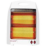 Creative Light- Mini tostadas Calentador Estufa Eléctrica Oficina de Cine de calefacción para el hogar Baño Uso plástico blanco de ahorro de energía eléctrica del calentador (295 * 405 * 75 mm)