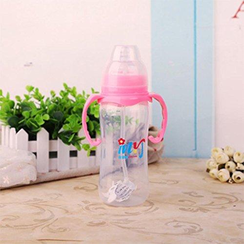 Produktbild sypure (TM) Farbe zufällige Baby Flaschen 330 ml Weithals Fläschchen für Baby Pflege Feeder