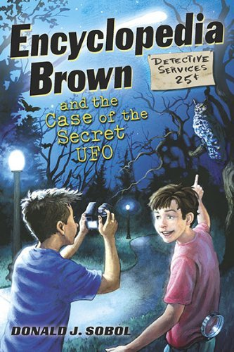 Encyclopedia Brown and the Case of the Secret UFOs by Donald J. Sobol (2010-10-14)