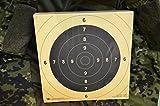BDS Schießscheibe Nr. 5. Pistole 25/50 m. ISSF. Präzision 200 Stück