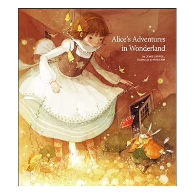 Alice's Adventures in Wonderland in Hard Cover (English Edition), Illustrator by Minji Kim