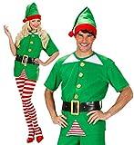 Desconocido El pequeño ayudante de vestuario Medio Elfo de Santa para el padre de disfraces de Navidad