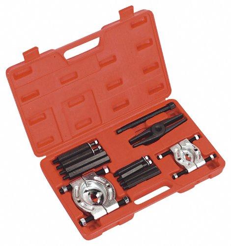 Preisvergleich Produktbild Trennmesser- und Abziehersatz,(Trennvorrichtung) 30-50 / 50-75 mm, zum Trennen und Abziehen von bündig anliegenden Kugellagern, Rollenlagern, Rädern, Buchsen etc.