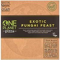 ONE PLANET Pizza Funghi de One Planet Pizza (Fungi Feast Pizza) 455g Vegano (Pack de 6)