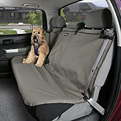 Solvit Waterproof Bench Seat Cover, Medium, Gray
