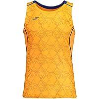Joma Olimpia Camiseta sin Mangas, Hombre, Naranja Flúor, S