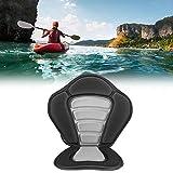 Tbest Kajak Sitz Kayak Sitzrückenstütze, Ocean Deluxe Padded Kajaksitz Kayaking Sitzpolsterauflage Comfort mit Abnehmbarer Canoe Rückenlehnensitztasche