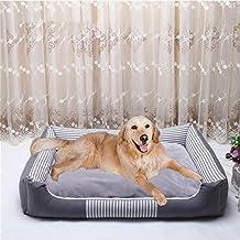 Wuwenw Cálido Perro Mascota Camas para Perros Grandes Impermeable Cama De Perro Inferior para La Lona