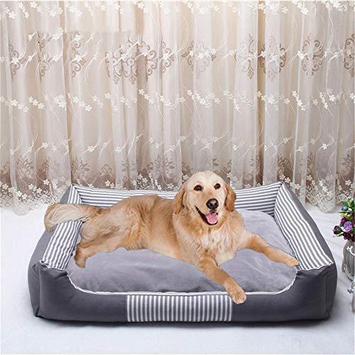 Wuwenw Cálido Perro Mascota Camas para Perros Grandes Impermeable Cama De Perro...