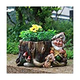 Design nano 15198 con vaso da fiori 16 cm decorazione ad alta décor di giardino decorazione giardino giardinaggio