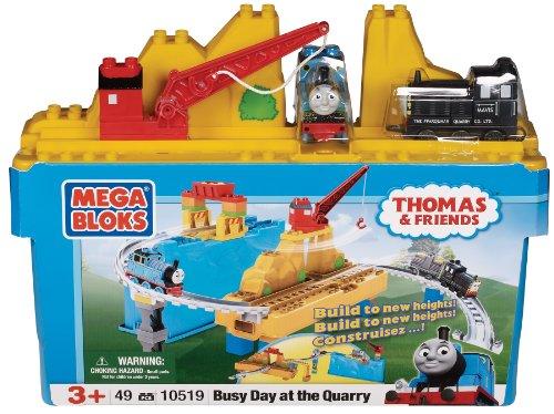 Mega Bloks - 10519U - Set construcción - Día Thomas