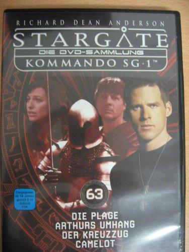 Stargate Kommando SG 1 - Die Plage / Arthurs Umhang / Der Kreuzzug / Camelot - Die DVD-Sammlung: DVD 63 -