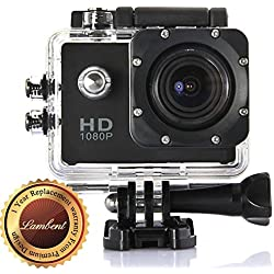 Lambent A11 Full HD 1080P Sports DV Action Waterproof Camera