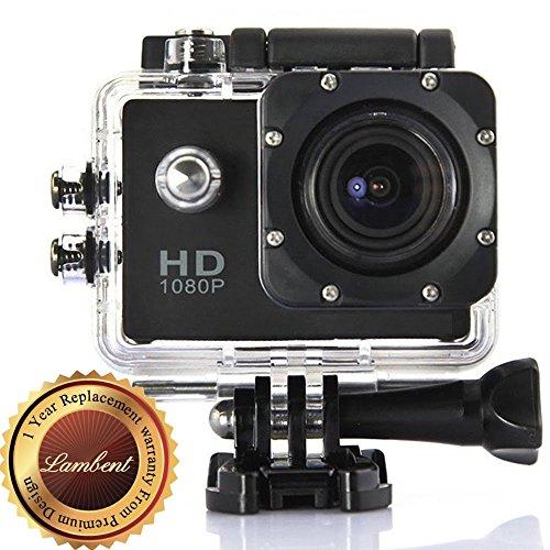 Lambent A11 Full HD 1080P Sports DV Action Waterproof Camera
