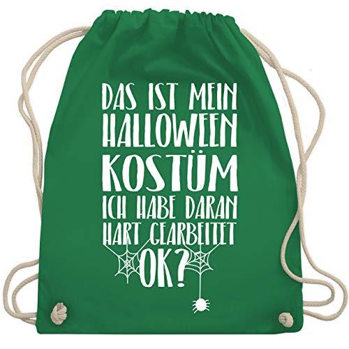 Halloween - Das ist mein Halloween Kostüm - Unisize - Grün - WM110 - Turnbeutel & Gym Bag