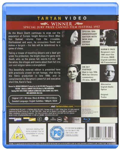 The Seventh Seal [Blu-ray] [1957] [UK Import]: Alle Infos bei Amazon