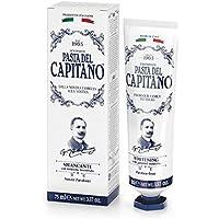 Pasta del Capitano Dental Blanqueadora - 6 Recipientes de 75 ml - Total: 450 ml