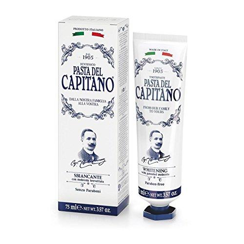 Pasta del Capitano Dental blanqueadora-675ml Behältern-Total: 450ml