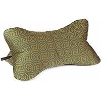 Lesekissen Bücherkissen Leseknochen Strandkissen Yogakissen Nackenkissen grün khaki oliv 40 x 20 x 20 cm von Beletage HM