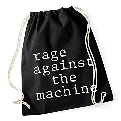 Rage Against the Machine Gym Bag Stack band Logo Nue offiziell (The Rage Machine-patches Against)