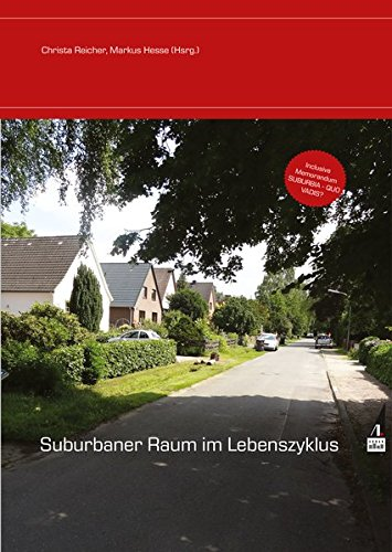 Suburbaner Raum im Lebenszyklus