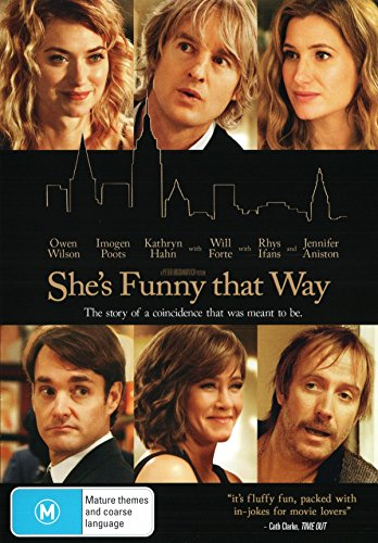 JENNIFER ANISTON - SHES FUNNY THAT WAY (1 DVD)